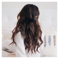 Tressmerize | Buy Hair Extensions with Topper for Thin Short hair ❤ liked on Polyvore featuring beauty products, haircare and hair styling tools