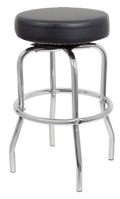 Shop a great selection of Coaster Home Furnishings Pair Retro Polished Chrome Swivel Bar Stools. Find new offer and Similar products for Coaster Home Furnishings Pair Retro Polished Chrome Swivel Bar Stools. Retro Bar Stools, Chrome Bar Stools, Tall Bar Stools, Industrial Bar Stools, Swivel Bar Stools, Home Furnishing Stores, Home Furnishings, Black Coasters, Cafe Seating