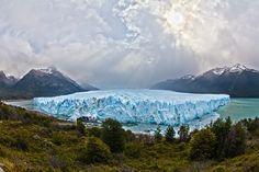 Glacier Perito Moreno, Lago Argentino, near El Calafete, SantaCruz, Patagonia, Argentina
