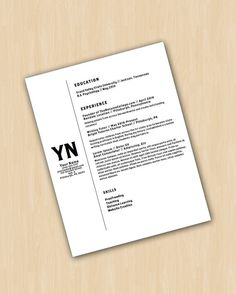 resume template cover letter the brothers resume design instant download word document - Word Doc Resume Template