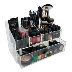 Beauty Brushes, Best Makeup Brushes, Best Makeup Products, Makeup Storage, Jewelry Organization, Magnetic Makeup Palette, Makeup Brush Case, Organization Station, Makeup Yourself