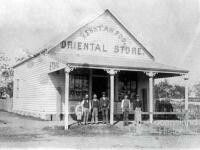 Henry Ah Foo's Oriental Store, Marshall St,Goondiwindi,Queensland in 1906. 🌹