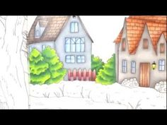 ROMANTIC COUNTRY by Eriy - color tutorial part 2 - YouTube