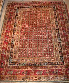 The World's Oldest Carpet Story: The Pazyryk — news on Ak Zhaik