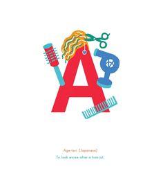 »Untranslatable«, Alphabet der nicht übersetzbaren Wörter © Fuchsia Macaree