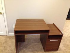 Crate and Barrel Compact Home Office Desk $75 St. Charles