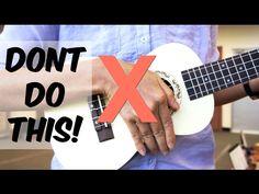 How To Hold The Ukulele - Ukulele School - YouTube
