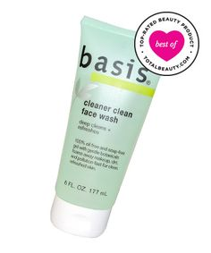 Best Oil-Control Product No. 7: Basis Cleaner Clean Face Wash, $5.49