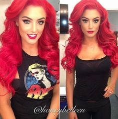 FormidableArtistry: All About WWE Divas Eva Marie's Hair (Color, Extensions & All)