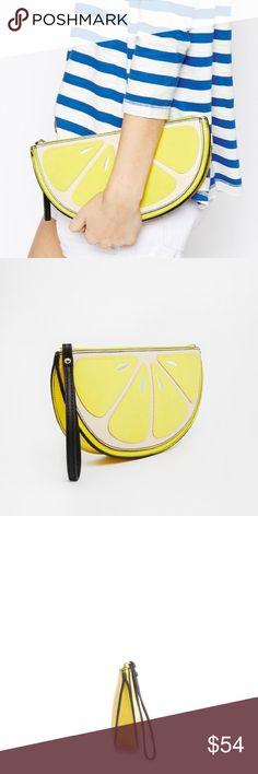 ✨The JingerHaute Lemon Spice Hand Bag Due from designer 8/20✨ Boutique Bags Clutches & Wristlets