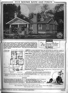 Sears Bungalow House plans