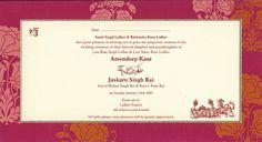 Indian wedding invitation wording template – Shaadi Bazaar – The Best Ideas Marriage Invitation Card Format, Marriage Invitation Wordings, Wedding Invitation Wording Templates, Wedding Reception Invitation Wording, Wedding Invitation Message, Wedding Card Wordings, Indian Wedding Invitation Cards, Hindu Wedding Cards, Wedding Wording