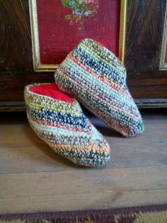 Traditional Bulgarian Style Slipper Socks by AliaHandmadeDesigns