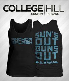 Delta Gamma Anchorsplash #dg #anchorsplash #tanks #collegehill