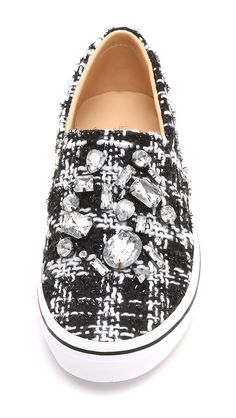 Kate Spade New York Slater Tweed Slip On Sneakers