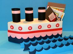 How to Make a Love Boat Out of a Milk Carton - {Tutorial} - Between U & Me