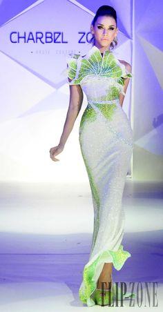 Charbel Zoe Frühjahr/Sommer 2014 - Couture - http://de.flip-zone.com/charbel-zoe-4261