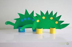 Znalezione obrazy dla zapytania prace plastyczne dinozaury