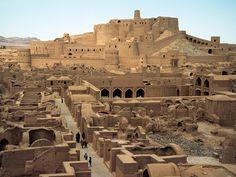 """The beautiful """"ruin"""" of Bam Iran."""
