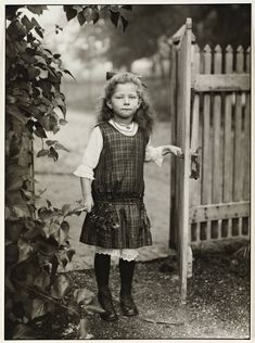 Farmer's child, by August Sander,  1919