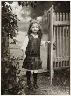 Farmer's child, by August Sander,  1919