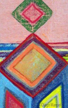 """Diablito de carnaval 6 "" , acrylic on canvas, 28 x 18 cm. 2015"