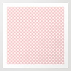 White polka dots glow pattern on rose quartz by Wendy Townrow, pink, white, rose quartz, rose, baby pink, spot, dot, polka dot, spots, pattern, glow, glowing, modern, unique, graphic design, art, digital, digital art, digital design, decor, home decor, wall art, wall decor, print