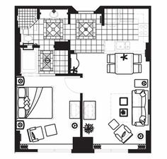 bedroom suite floor plan for hilton grand vacations on the las vegas