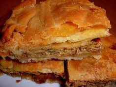 Cookbook Recipes, Cooking Recipes, Greek Pastries, The Kitchen Food Network, Savory Muffins, Savoury Pies, Greek Cooking, Greek Recipes, Different Recipes