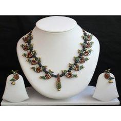 Terracotta designer jewellery-kachi
