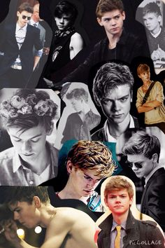 Made a thomas sangster collage