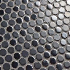 Merola Tile Comet Penny Round Silver 11-3/4 in. x 11-3/4 in. x 8 mm Porcelain Mosaic Tile-FSHCOMSL - The Home Depot