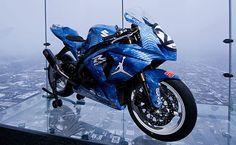 Michael Jordan Motorsports Debuts Air Jordan XX8 Inspired Suzuki Motorcycle