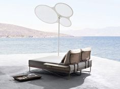 Gartenbett rattan  Lounge outdoor chairs Caribe | Roberti Rattan Image Big 1 ...