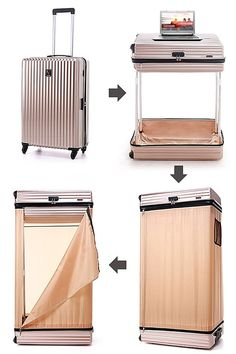 The Best Carry-On Luggage to Buy in 2020 [Categorized] - Suitcase with shelves