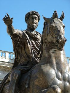 Marcus Aurelius (121 - 180 AD) was an emperor of noble character, raised by his adoptive father, Antoninus Pius (138 - 161 AD). He embraced stoicism, a system of morality based on pure reasoning. He was educated for duty, taught in Latin and Greek by the best tutors. He determined to hold the empire together against ever-increasing odds. He was diligent, heard law cases, issued imperial edicts, and defended the borders. His reign was dominated by warfare against invaders on all key…