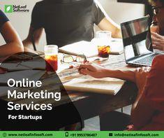 Online Marketing Services, Software Online, Accounting Software, Mail Marketing, Web Design Services, Software Development, Business Design, A Team