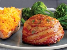 Bacon-Wrapped Ground Turkey Mini Meatloaf (Includes Freezer-Friendly Instructions).