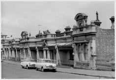 Nathan's Terrace, Shields Street, Flemington, 1963 Vintage Architecture, Historical Architecture, Melbourne Victoria, Victoria Australia, Ascot Vale, Melbourne Suburbs, Historical Pictures, Melbourne Australia, Family History