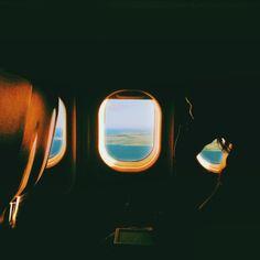 Leavin' on a jet plane.
