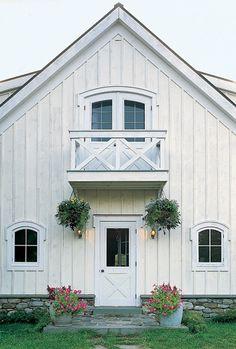 Beautiful barn themed home