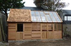 Shed/greenhouse combination