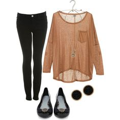 airport outfit... by jacqueline02 on Polyvore