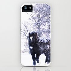 Horse  iPhone Case by Tanja Riedel - $35.00