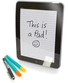 iNotePad - iPad Inspired Notepad