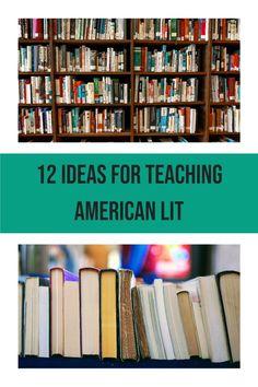 Teaching American Literature, Literature Circles, Literature Books, Ap Language, English Language, American Humor, English Teaching Resources, Reading Projects, Ap English