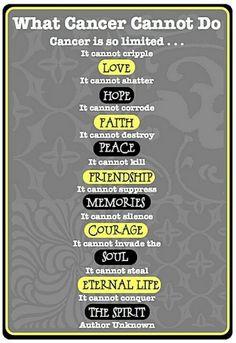Cancer cannot cripple love...