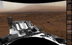 See Curiosity rover's Mars home in high-tech view (Photo: NASA / JPL-Caltech / MSSS)