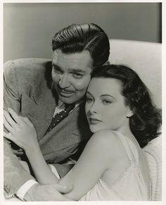 Hedy LaMarr & Clark Gable