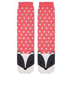 Accessorize Damen Bertie Dachs Socken mit Gesicht Größe Einheitsgröße Pink Accessorize http://www.amazon.de/dp/B00MVKVARO/ref=cm_sw_r_pi_dp_28nSub1WWWHQG